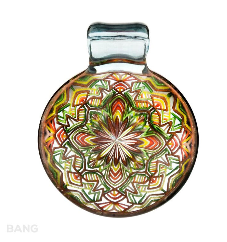 Reed Glass Implosion Pendant