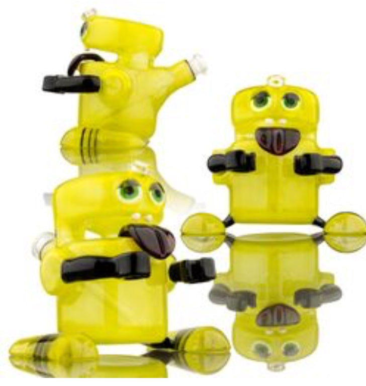 MRE Glass , Yellow Dabie Bot