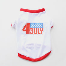 Load image into Gallery viewer, Fourth of July T-Shirt for Small Dogs