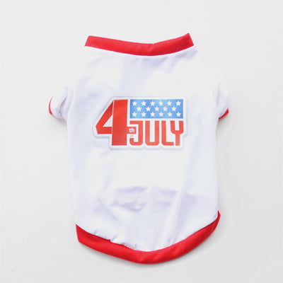 Fourth of July T-Shirt for Small Dogs