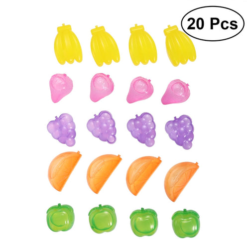 20pcs/Pack Cute Fruit Reusable 3D Ice Cubes