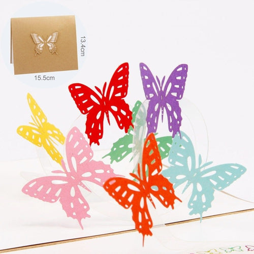 3D Pop Up Card Butterfly