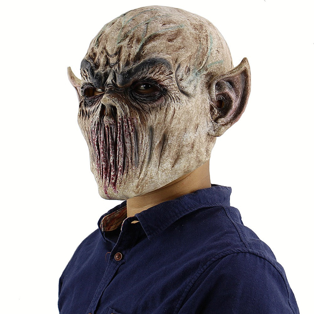 Latex Full Head Bloody Creepy Monster Mask