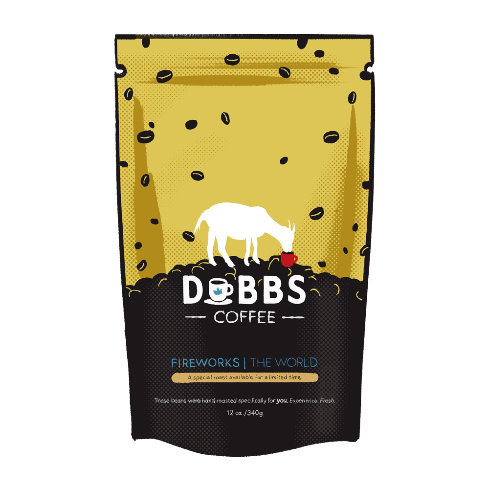 Fireworks | Micro-Lot Coffee from Around the World | 100% Fresh & Pure | COSTA RICA - DubbsCoffee