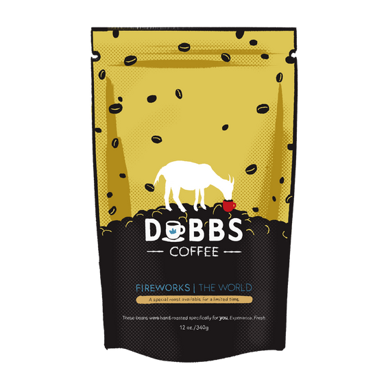 Fireworks | Micro-Lot Coffee from Around the World | 100% Fresh & Pure | COLOMBIAN - DubbsCoffee