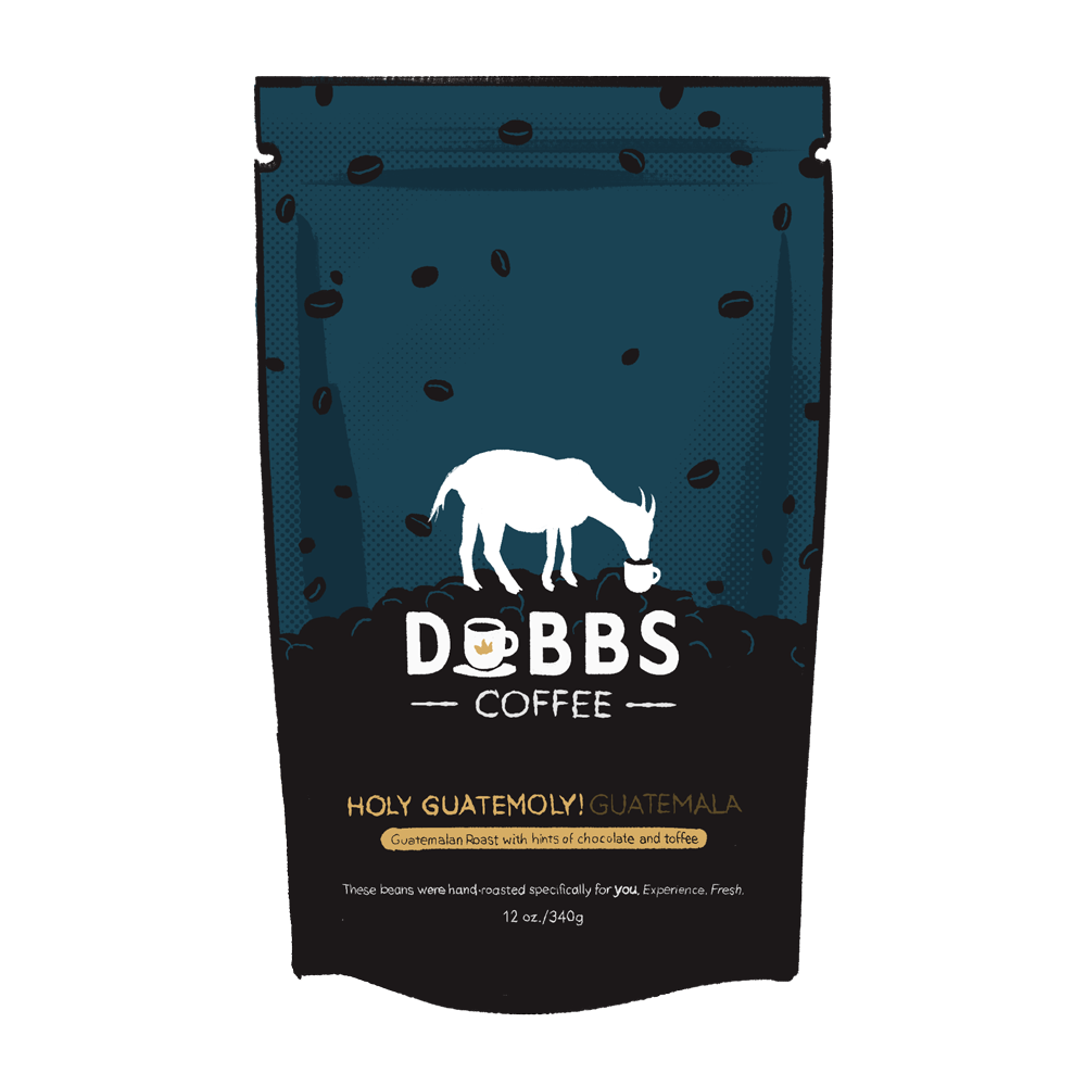 Holy Guatemoly | Guatemala | 100% Fresh & Naturally Creamy - DubbsCoffee