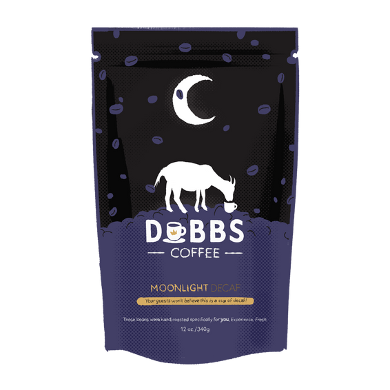 Moonlight | Decaf | 100% Organic Colombian Coffee - DubbsCoffee
