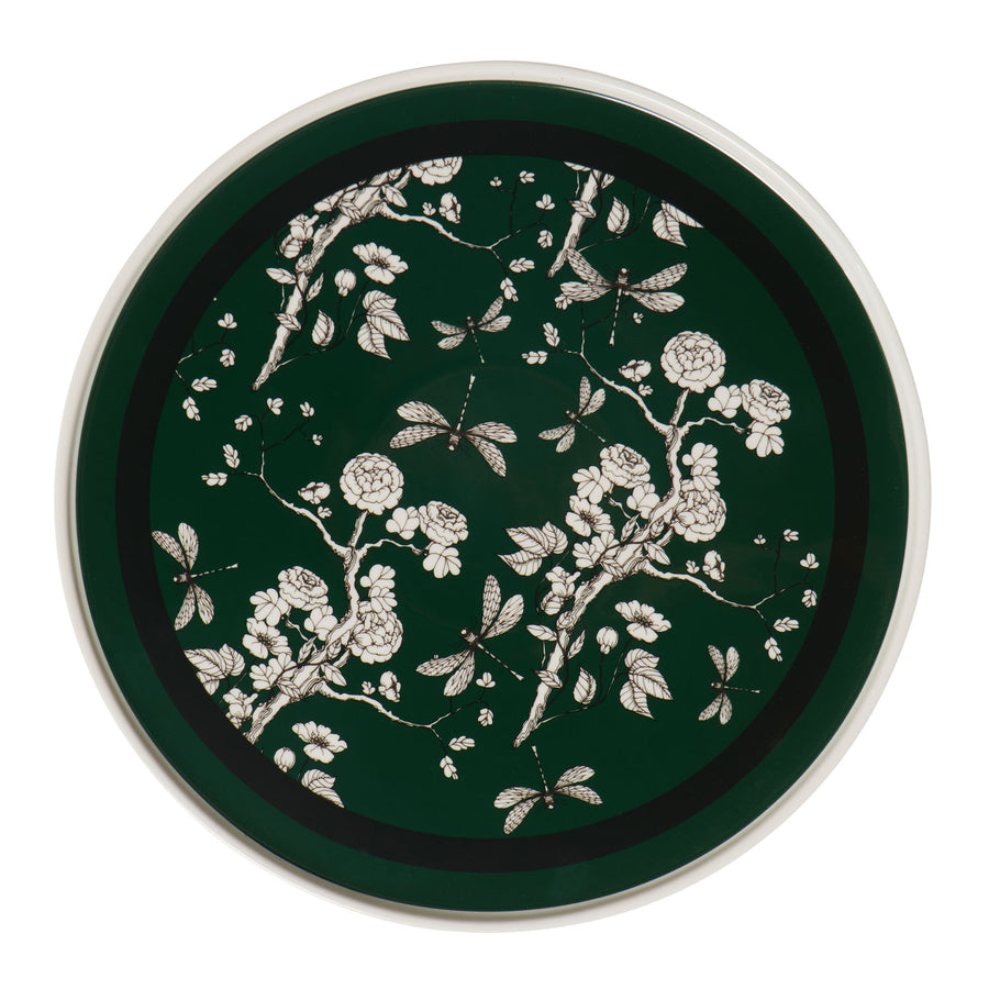 Green and Black Chinoiserie