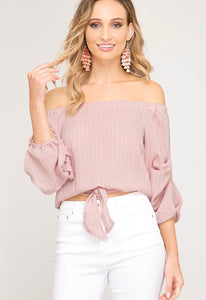 """Pretty In Pink"" Top"