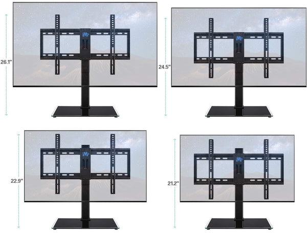 tv stand with height adjustment