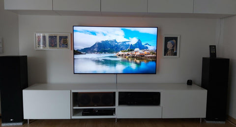 wall mount tv ideas in living room