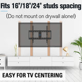 tilt tv mount ideal for tv above fireplace