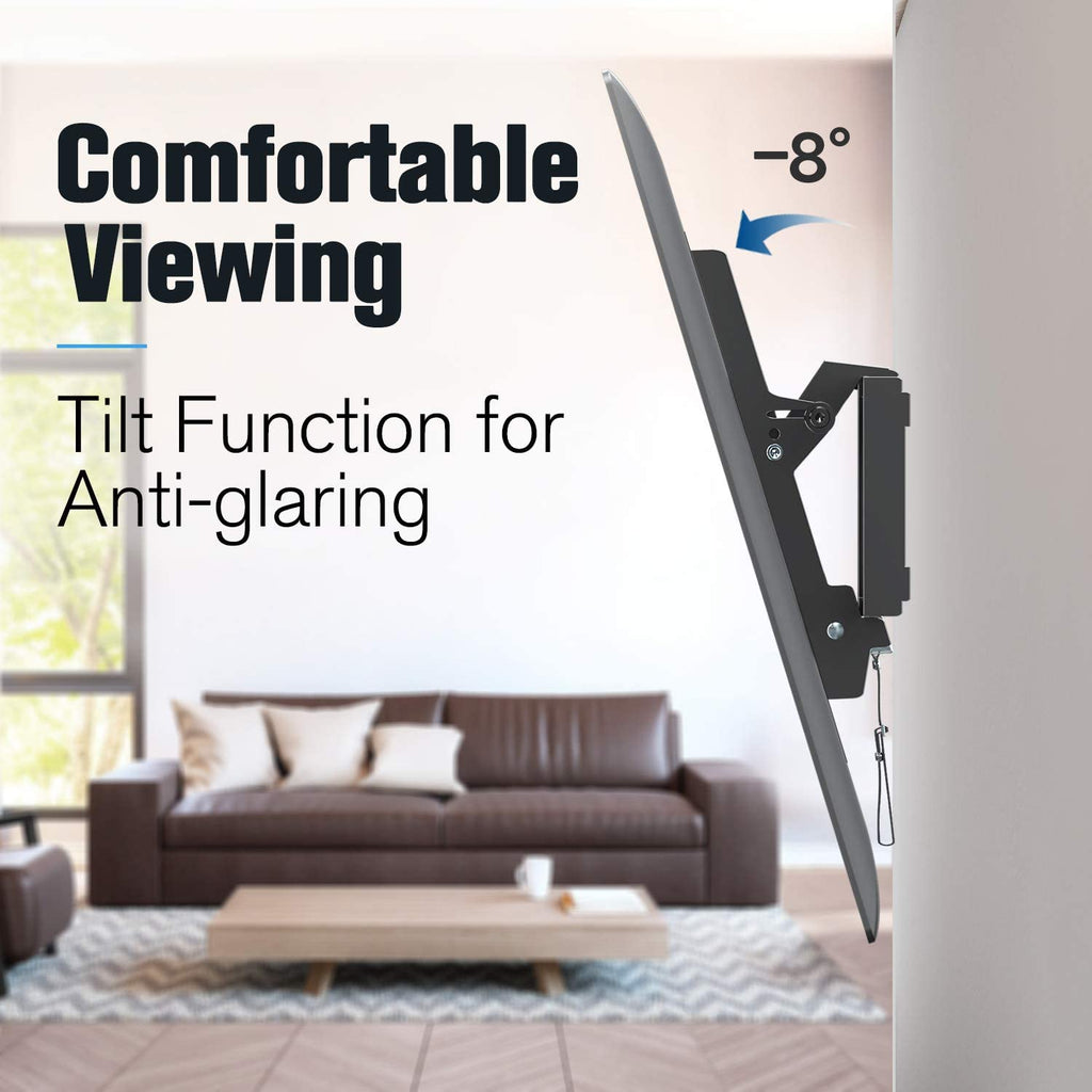 Tilting TV wall mount for 50, 55'' TVs