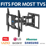 "Renewed Full Motion Swivel TV Hanger for 42-70"" TVs with All Kits Included up to 50% off MD2296"