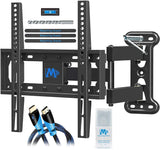 Full motion TV wall mount for 32-55'' TVs
