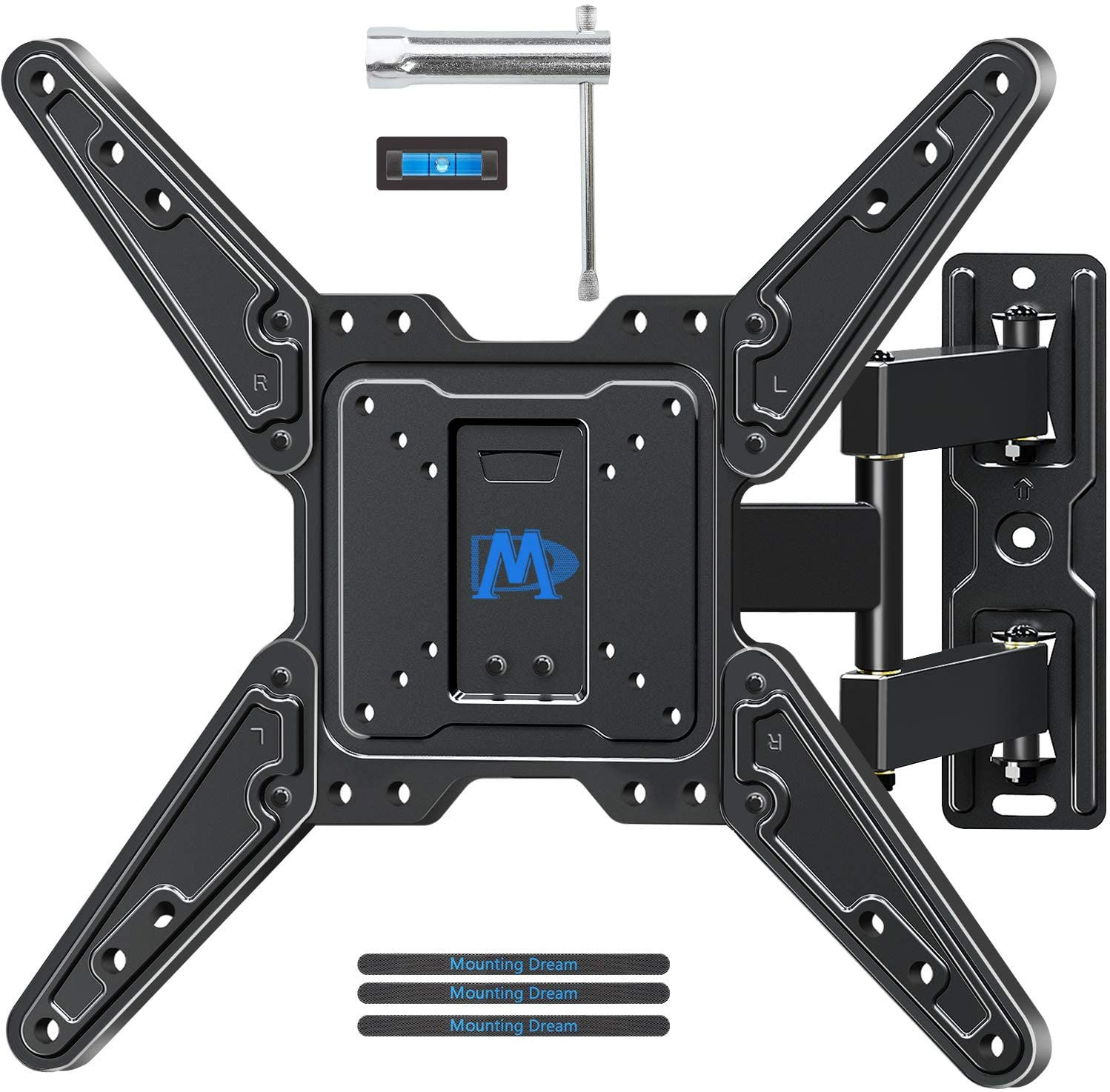 Renewed Full Motion TV Wall Mount for 26