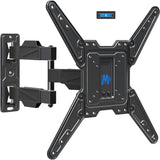 Full Motion Articulating TV Mount for 26-55 inch TVs with Cable Management Clip Mounting Dream