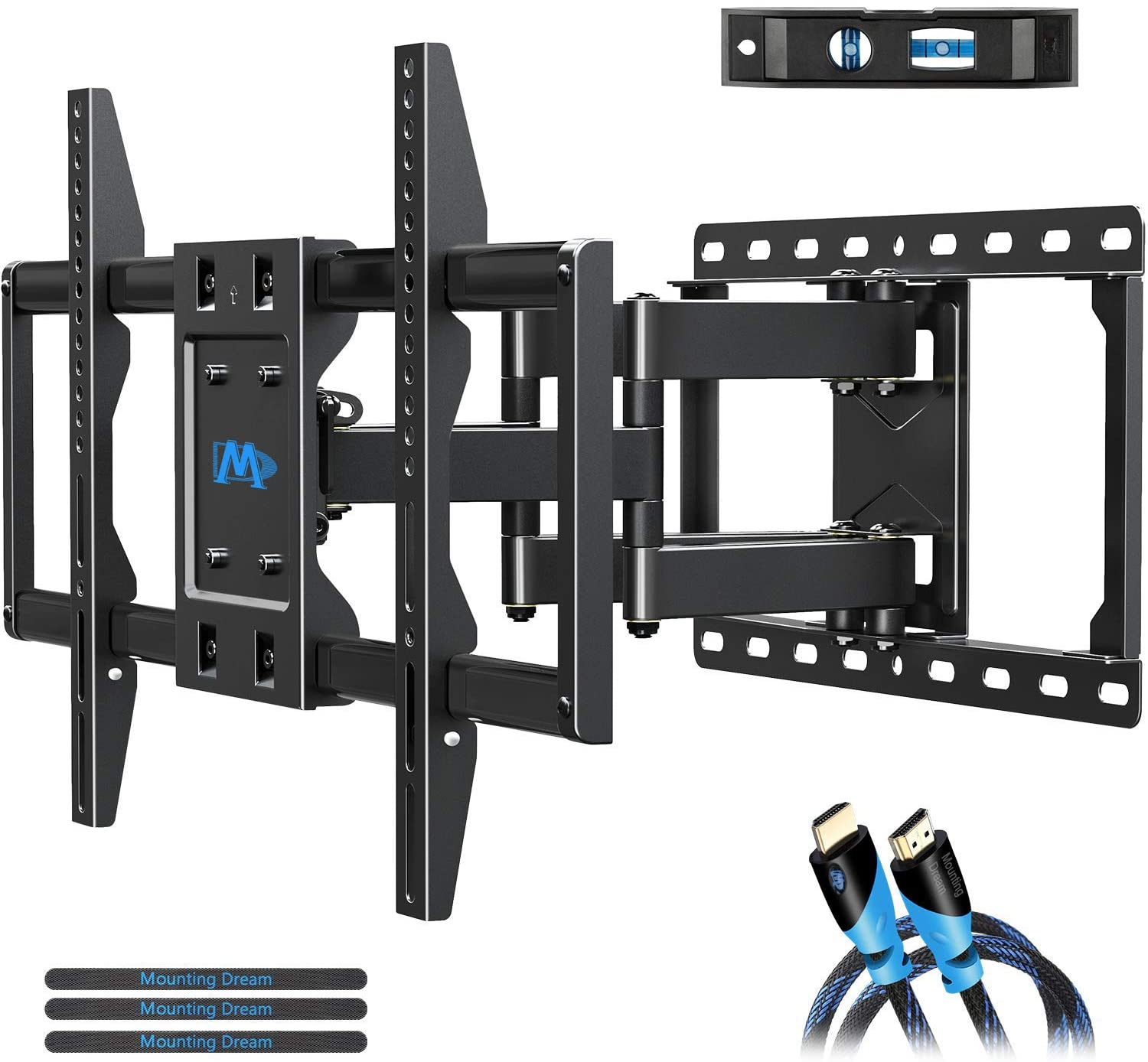 Renewed Full Motion Swivel TV Hanger for 42-70
