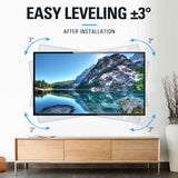 easy 3 degree leveling TV wall mount