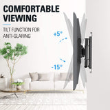 Centering Sliding Full Motion TV Mount for 42-70 Inch TVs, Swivel TV Mount Bracket MD2618