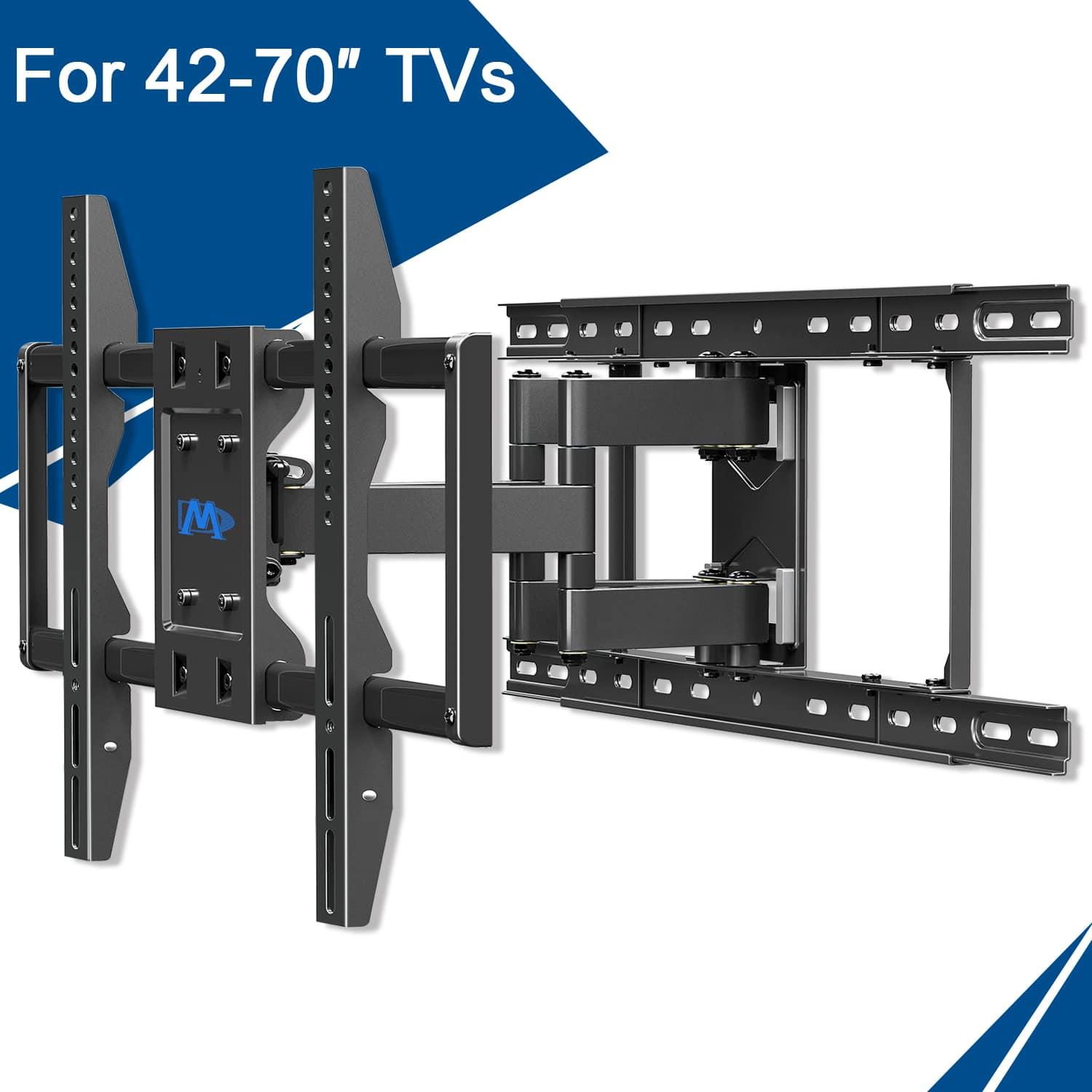 Renewed Full Motion TV Wall Mount for 42-70