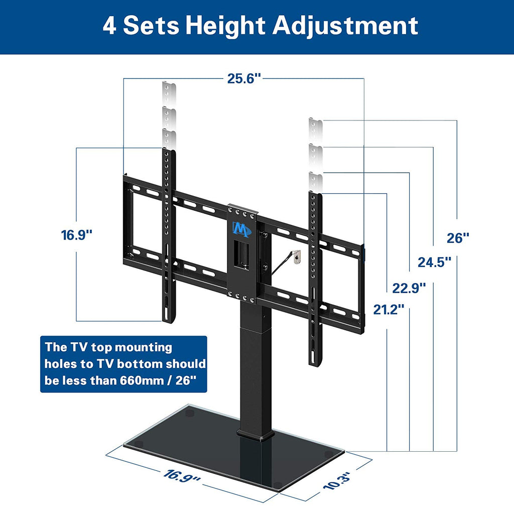 Mounting Dream TV stand for 42-60 inch Sony, LG, Samsung, TCL, Sharp, Tashiba TVs-1