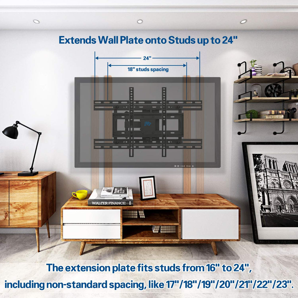 Tv wall mount extension bracket for 16 or less tv wall - Tv mount wall plate ...