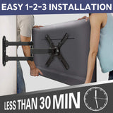 Mounting Dream full motion RV/Trailer TV mount for 17-39 inch Sony, LG, Sumsung, TCL, Sharp, Tashiba TVs