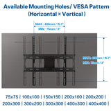 Mounting Dream full motion TV mount for 26-55 inch Sony, Sumsung, LG, TCL, Sharp, Tashiba TVs