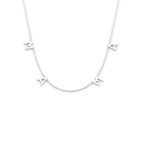 MAMA Necklace (sterling silver)