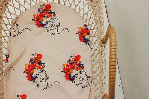 'Frida' Bamboo Wrap - THE COUX