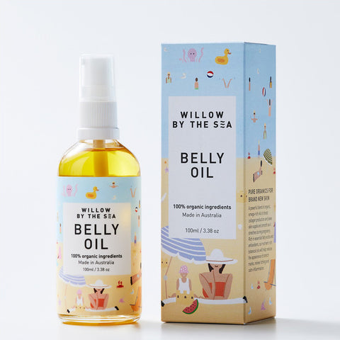 'Willow By The Sea' belly oil