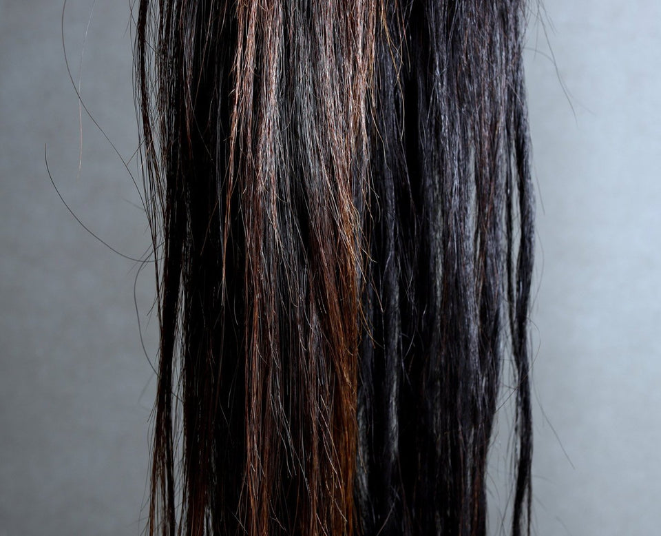 HORSE HAIR PIECES BROWN/BLACK