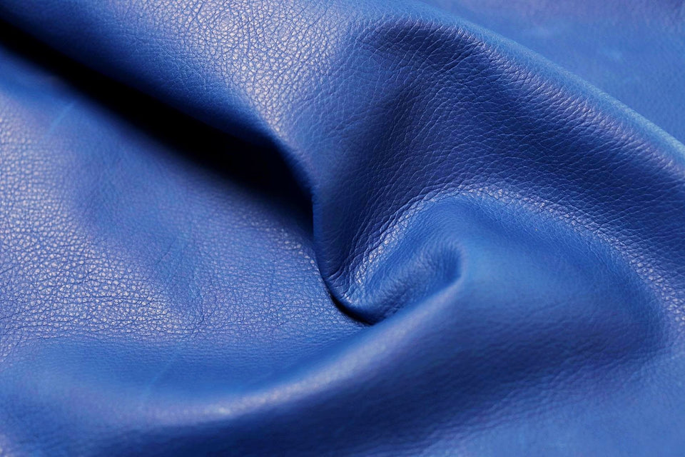SAVANA COW HIDE BLUE