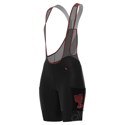 Sigr 'PRO Riksväg 92 Cargo' - Cycling Bib Shorts with Thigh Pockets for Women
