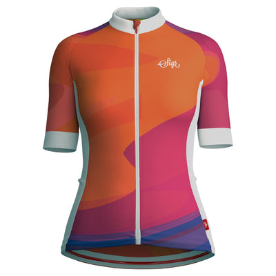 Sigr 'Dawn Wave' Cycling Jersey for Women