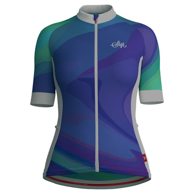 Sigr 'Dusk Wave' Cycling Jersey for Women