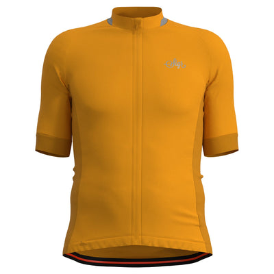 Sigr 'Solros' Yellow Cycling Jersey for Men