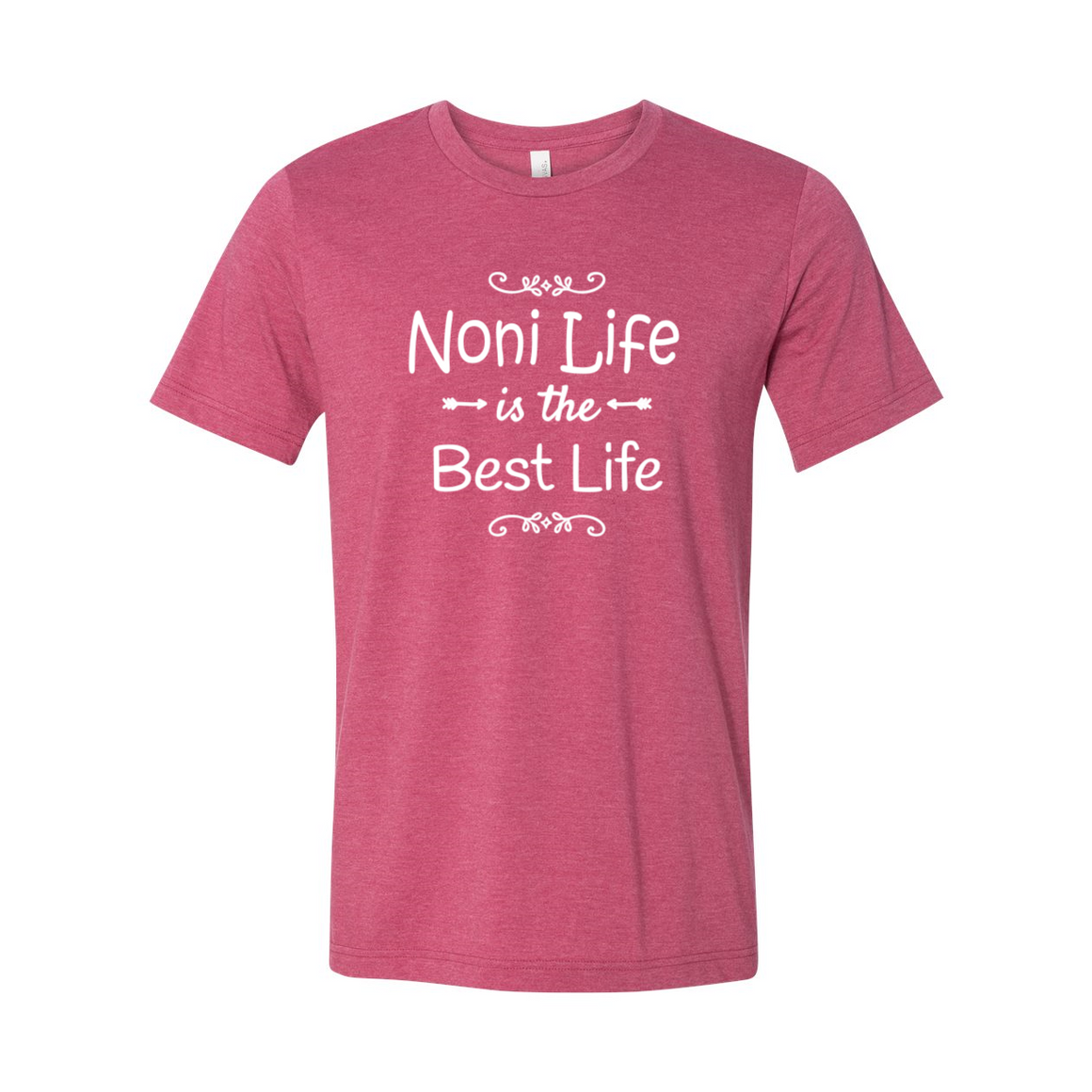 Noni Life Is The Best Life Grandmother Tshirt