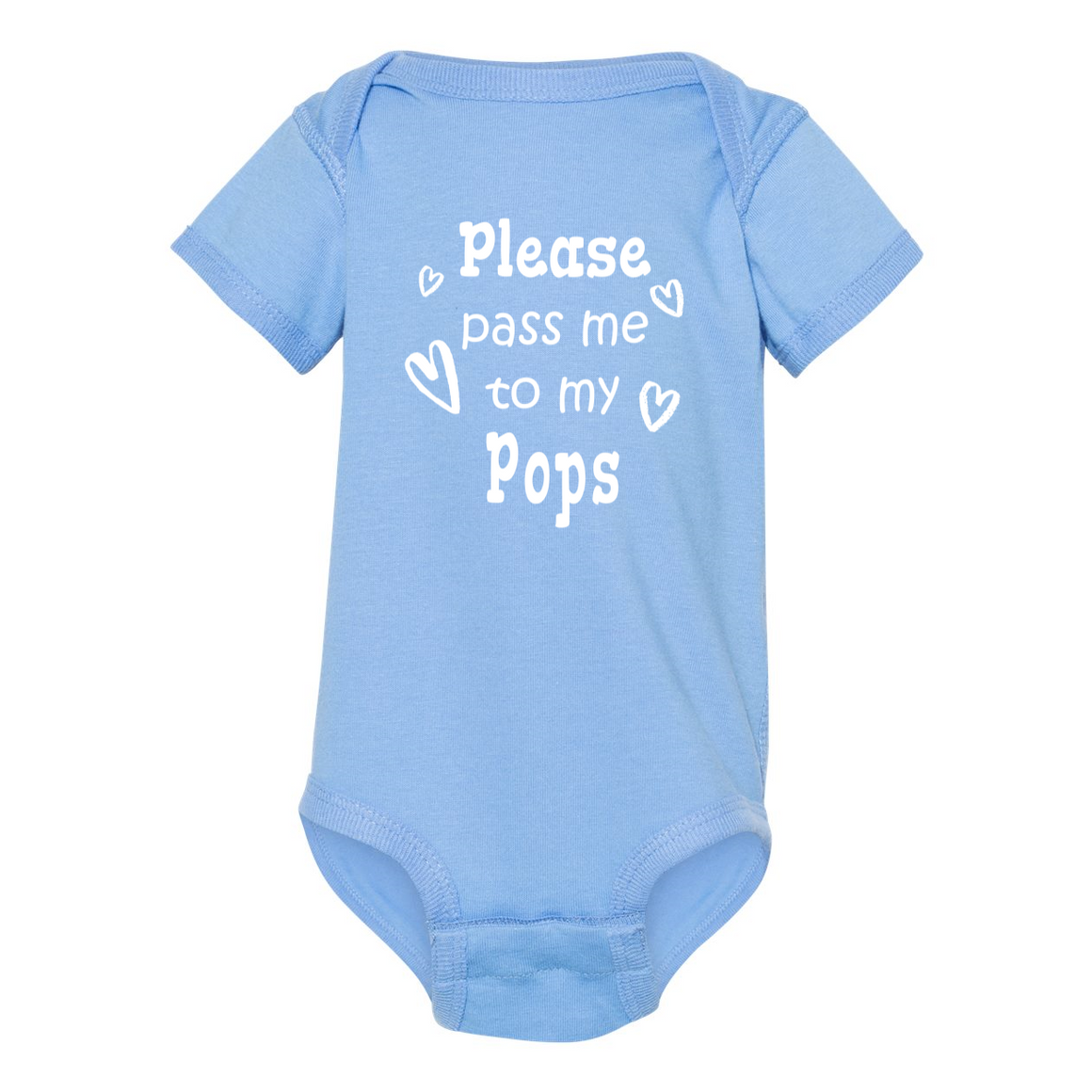 Pass Me To Pops Grandfather Baby Bodysuit