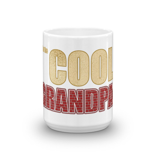 I'm the Cool Grandpa Coffee Mug - Great for Grandparent Gifts
