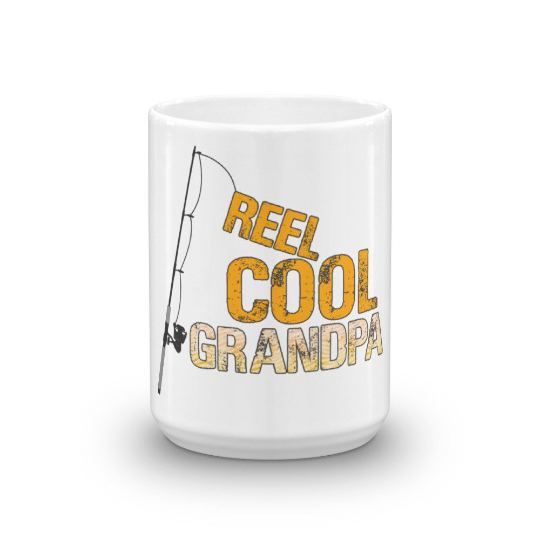 Reel Cool Grandpa Coffee Mug - Great for Grandparents Gifts