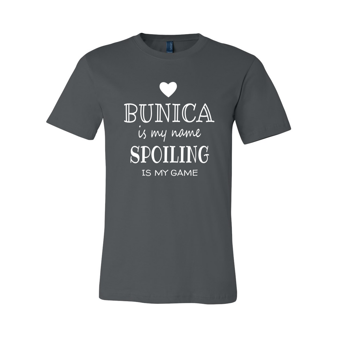 Bunica Is My Name Grandmother Grandma Tshirt