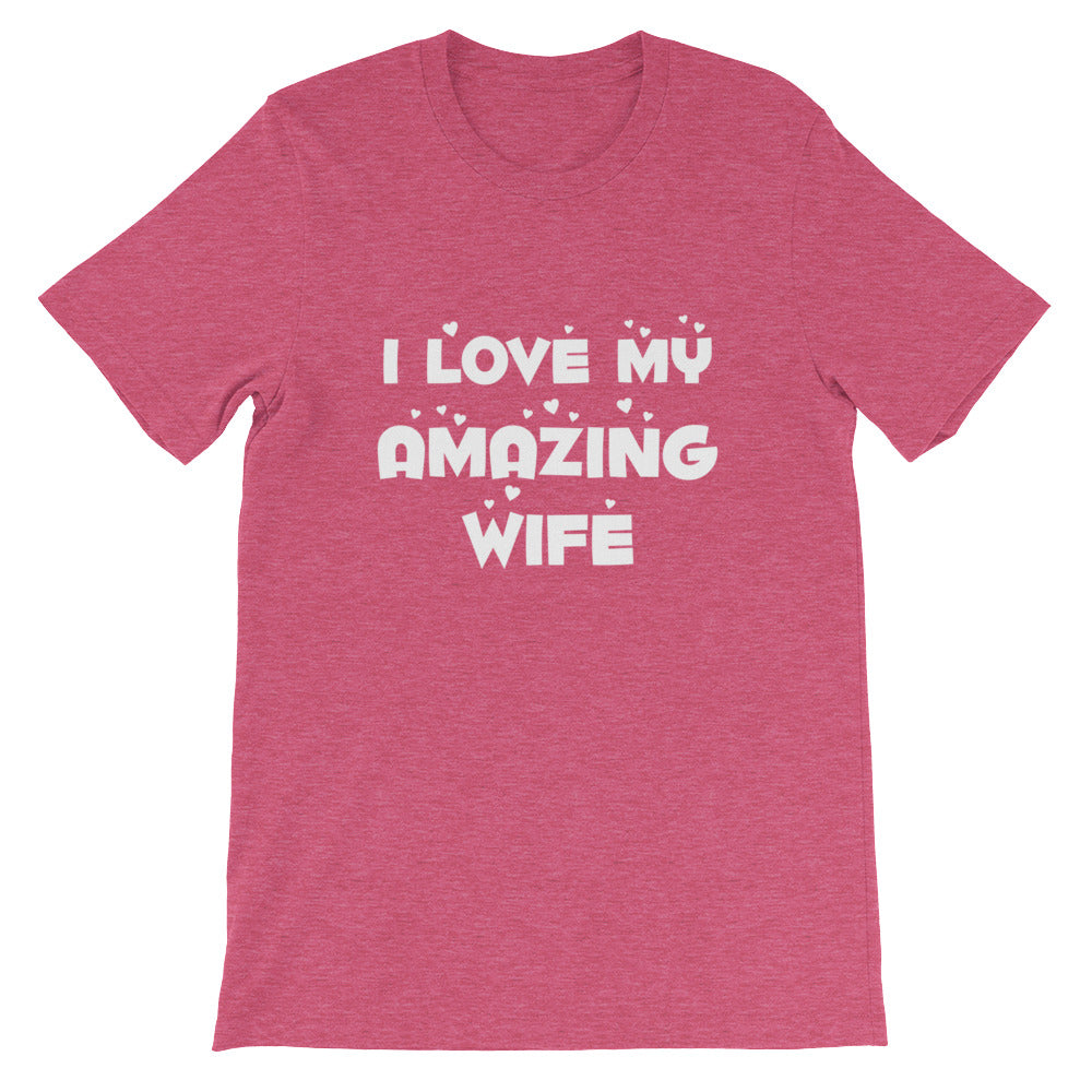 I Love My Wife Couples Shirts Great Wife and Husband Gifts