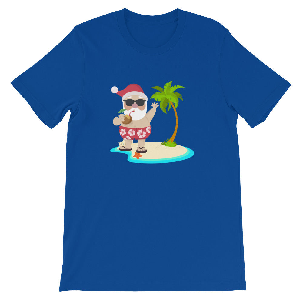 Santa Shirt for Christmas in July Funny Christmas Shirt