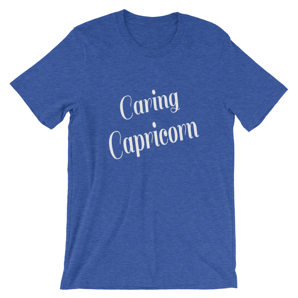 Caring Capricorn Zodiac Sign Astrology Horoscope Graphic Tee Tshirt