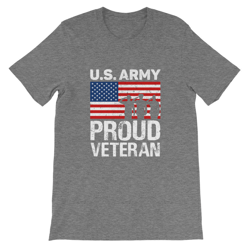 Proud Veteran US Army Patriotic Shirt - Great for 4th of July