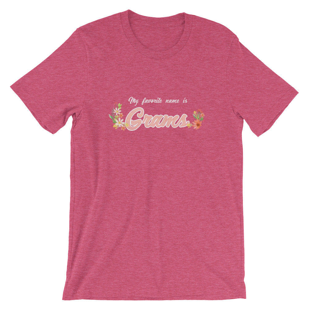 My Favorite Name is Grams Shirt Cute Grandmother Grandma Gifts from Grandkids