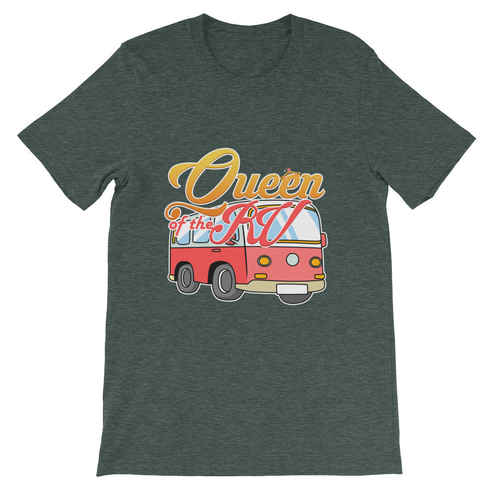 Queen of the RV Funny Camping Shirt for Women - Great for Camper Gifts