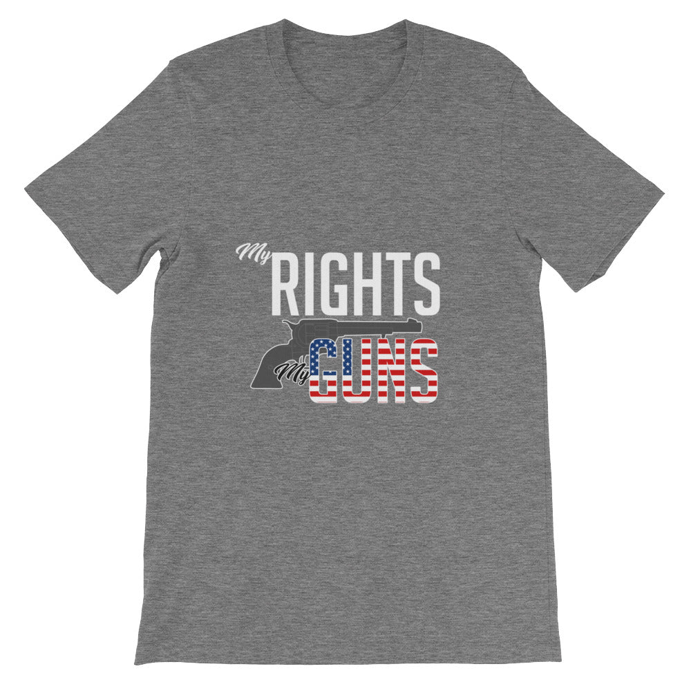 My Rights My Guns 2 Amendment Shirt for Men & Women Gun Rights